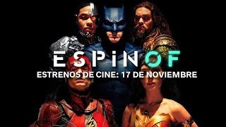 Estrenos de cine: la Liga de la Justicia contra Andy Serkis y la ganadora de Sitges 2017