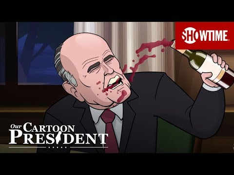 Cartoon Rudy Giuliani Teaches Cartoon Trump How To Be Disgusting | Our Cartoon President | Season 2
