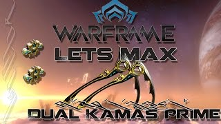 warframe watch it in action dual kamas prime red crit build видео Видео