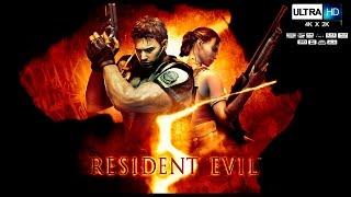 RESIDENT EVIL 5 Pelicula Completa Español UHD Full Movie  Resident Evil 5 Remastered Game Movie