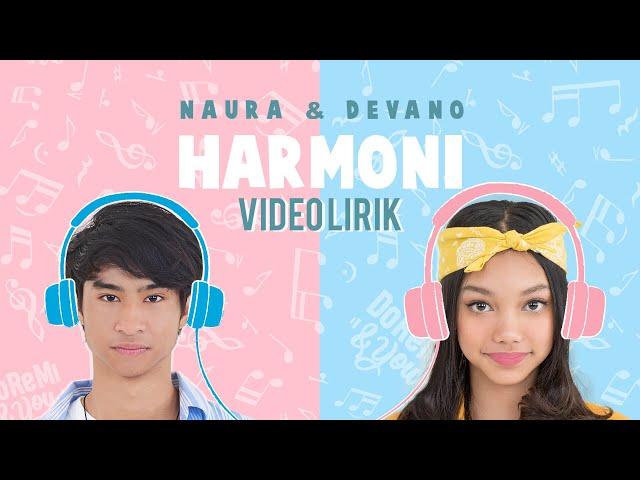 Naura & Devano - Harmoni (OST. Doremi & You | Coming Soon Juni 2019) | Official Video Lirik