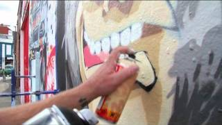 Cheo: The inspiration behind his 'apes getting smarter' street art in Bristol.