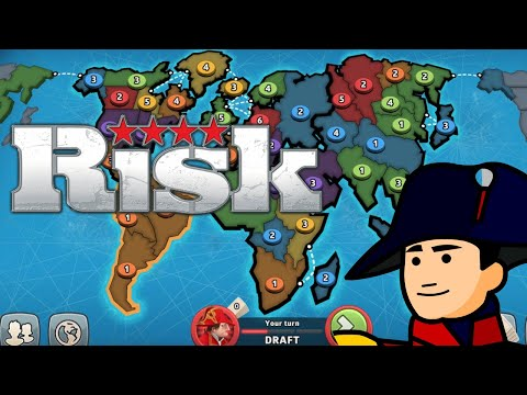 LET'S PLAY RISK! - My First Online Multiplayer on PC