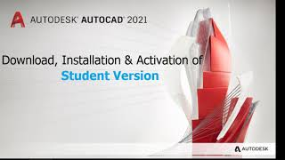 AutoCAD 2021 Student Version | Download and installation guide