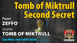 Video Zeffo Tomb of Miktrull Second Secret