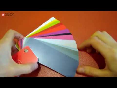 Различные цвета из специальной палитры Terma для полотенцесушителей и радиаторов