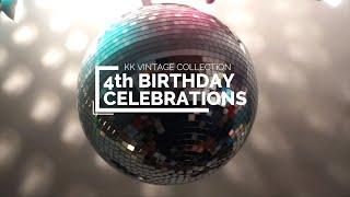 4th Birthday Celebrations