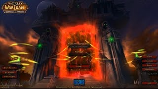 Warlords Of Draenor Login Screen & Music!