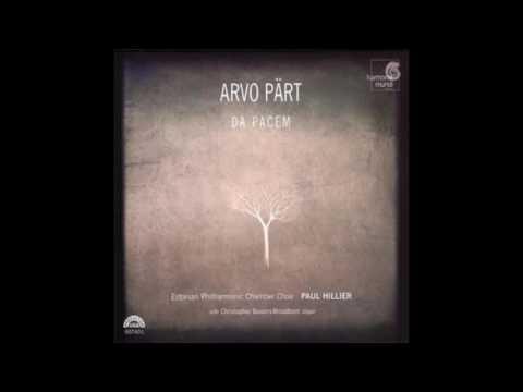 Arvo Pärt - Da Pacem [Estonian Philharmonic Chamber Choir/Paul Hillier] (2006)