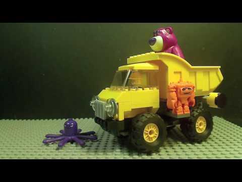 Vidéo LEGO Toy Story 7789 : Le camion-benne de Lotso