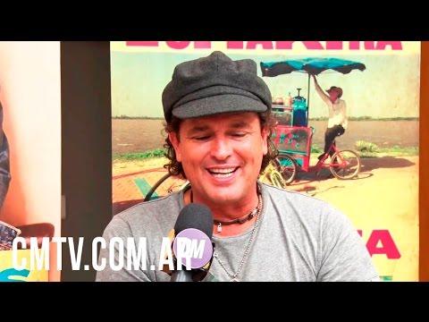 Carlos Vives video Soy fan de la bicicleta - Argentina 2016