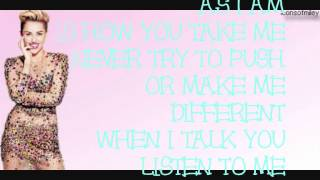 Miley Cyrus - As I Am - Lyrics