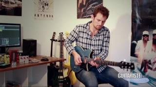 Видео Yamaha Revstar RS420 Black Steel - Электрогитара
