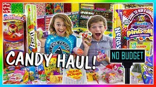 NO BUDGET CANDY SHOPPING SPREE! - Parents Can