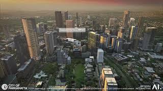 Parramatta CBD flyover transformation