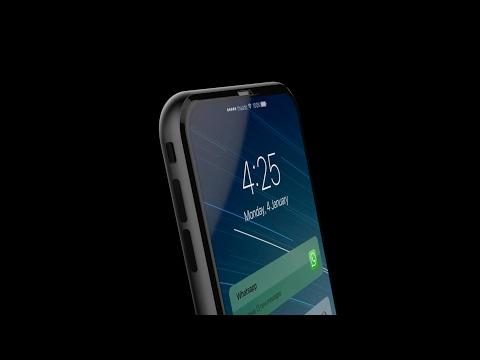 [動画]裏表でデュアルディスプレイを搭載したiPhone 8のコンセプト