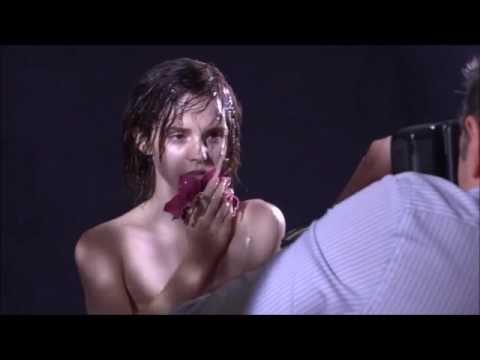 Emma Watson Naked Photoshoot Slow-Motion