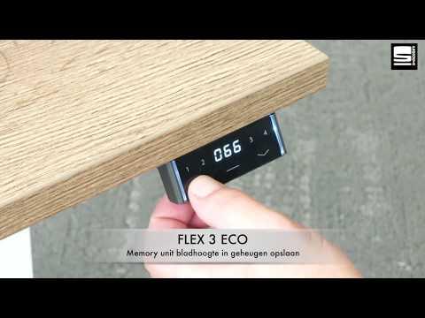 SWAN Flex 3 Eco memory kit bladhoogte in geheugen opslaan