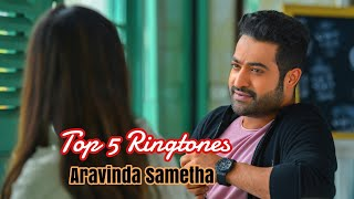 aravinda sametha telugu movie ringtones free download