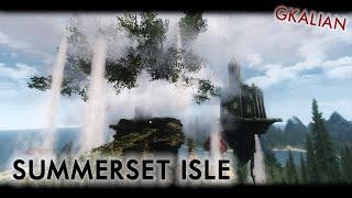 Skyrim: Summerset Isle - квест на острове Саммерсет | GKalian