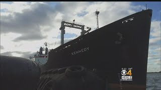 Mass Maritime Ship Returns After Weeks Assisting With Hurricane Relief