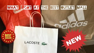 What i got at the best outlet mall in the US!!