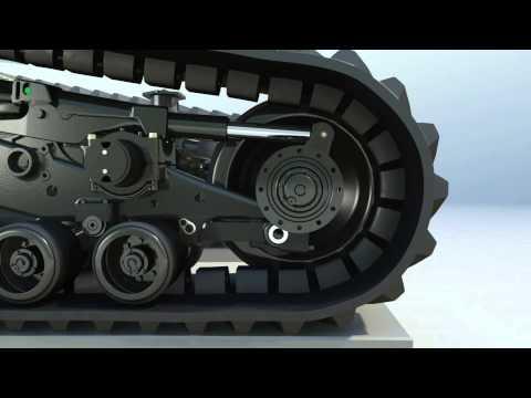 Challenger E Series Rubber Track Video
