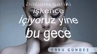 Ebru Gündes - Meyhaneci Lyrics