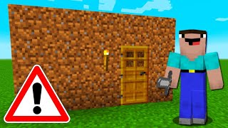 Worlds Biggest Noob Roblox Worlds Biggest Minecraft Noob Builds A House Minecraftvideos Tv