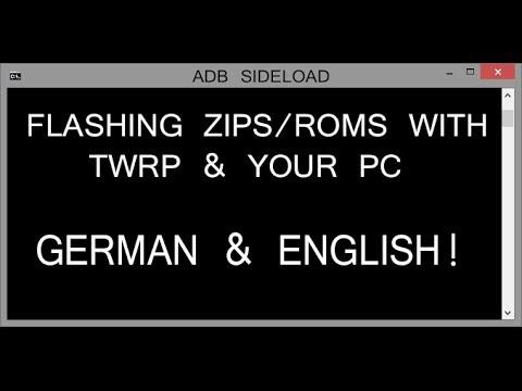How to flash Asus zenfone in adb sideload with pc - смотреть онлайн