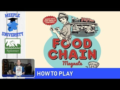 Food Chain Magnate Board Game – How to Play (Full Rules) & Setup