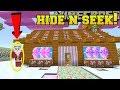 Minecraft: SANTA CLAUS HIDE AND SEEK!! - Morph Hide And Seek - Modded Mini-Game