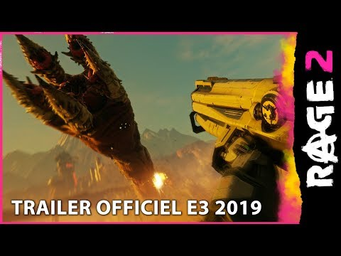"Trailer officiel E3 2019 ""FOU de RAGE 2"" de RAGE 2"