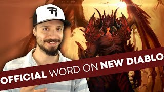 """CONFIRMED: """"Multiple Diablo projects in the works;"""" Diablo 4 at Blizzcon 2018? & more..."""