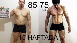 15 HAFTALIK DEĞİŞİM   Evolution Of Bodybuilding    15 Weeks   Fitnesstime   Abdulsamet Coşkun