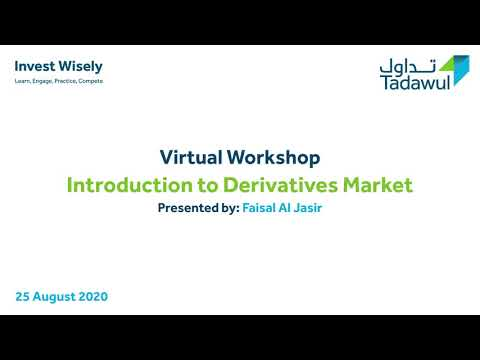 Virtual Workshop: Introduction to Derivatives Market - YouTube