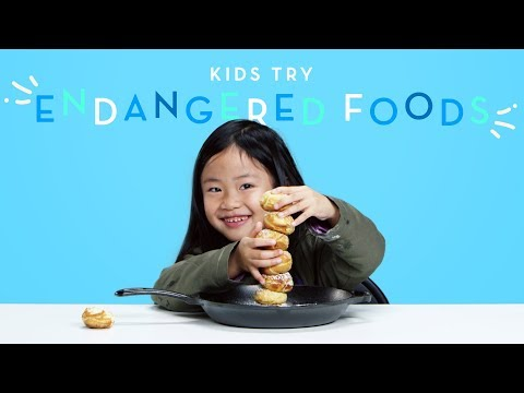 Kids Try Endangered Foods | Kids Try | HiHo Kids