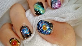 Desafío 31días: Día 19 Uñas Galaxia / 31Day Challenge: Day 19 Galaxy Nails