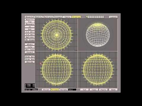 Historia LightWave 3D 1985-1994 + tutorial dla wersji 3,5