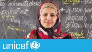 Thumbnail for Powerful letter by Syrian refugee and activist Muzoon | UNICEF