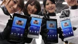 docomoスマートフォン「Xperia」発売