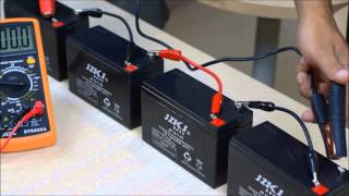 How to Connect Batteries in Series and Parallel - Part 2/2 : Series  Connections