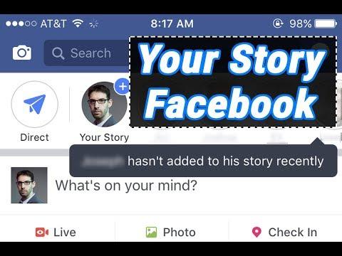 Cách mở Your Story Facebook mà bạn phải biết