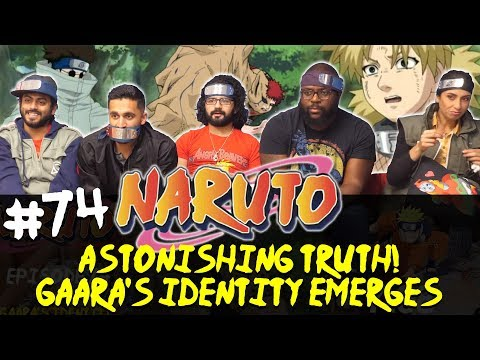 Naruto - Episode 74 Astonishing Truth! Gaara's Identity Emerges! - Group Reaction