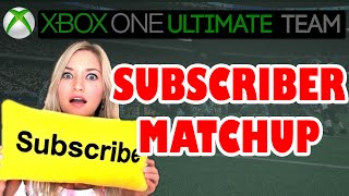 Madden 15 - Madden 15 Ultimate Team | SUBSCRIBER GAME | Madden 15 Xbox One Gameplay