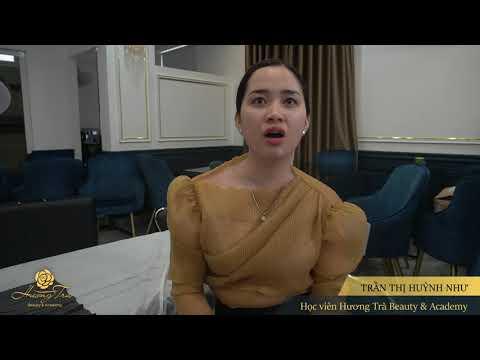 Trần Thị Huỳnh Như - Học viên Khoá Hairstrokes tại TP Hồ Chí Minh