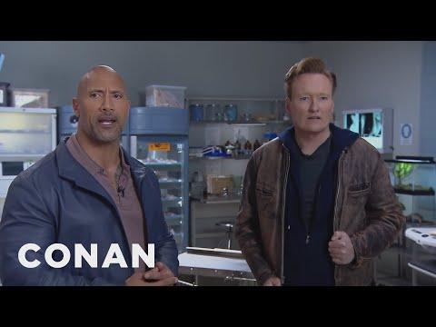 Conan and Dwayne Johnson Remote Outtake: Nude Scenes  - CONAN on TBS (видео)