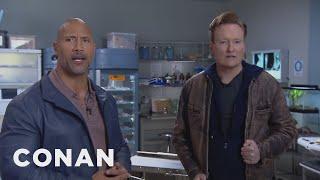 Conan & Dwayne Johnson Remote Outtake: Nude Scenes  - CONAN on TBS