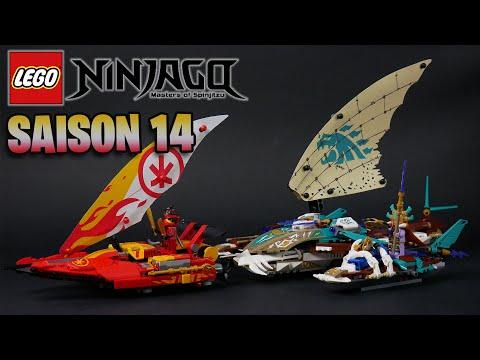 Vidéo LEGO Ninjago 71748 : La bataille de catamarans