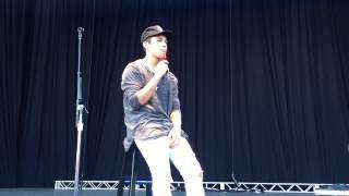Austin Mahone sings Torture at Oc VIP